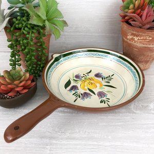 Stangl Pottery Country Garden Open Skillet 8 Inch